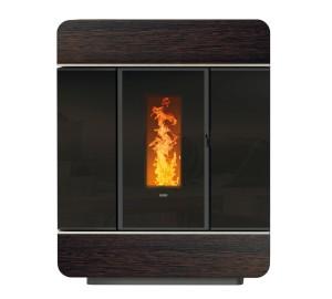 Offerta termostufa a pellet klover diva slim wood - Klover diva mid manuale ...