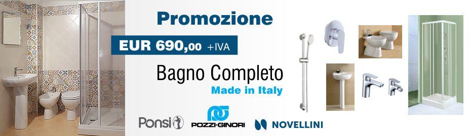 Promozione bagno completo - Termoidraulica Nigrelli Roma-Guidonia