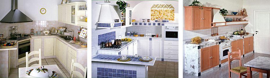 Cucine in muratura cucine a legna ed elettrodomestici - Cucine d acciaio ...